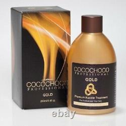 Cocochoco Original + Gold Traitement De Lissage Des Cheveux Kératine Brésilien 250ml