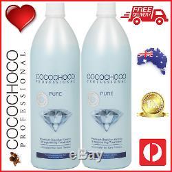 Cocochoco Pro Pure Brésilienne Kératine Hair Salon Traitement 2000ml 2l Gratuit Post