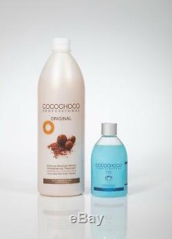 Cocochoco Traitement Brésilien À La Kératine Pour Cheveux 34oz + Pure 8.4oz Offre Spéciale