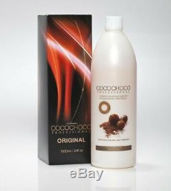 Cocochoco Traitement De Lissage À La Kératine Brésilienne À Usage Professionnel 1l