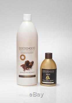 Cocochoco Traitement De Lissage Des Cheveux À La Kératine Brésilienne 34oz + Or 8.4oz