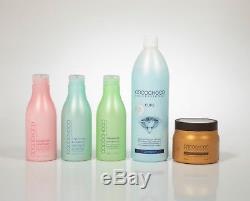 Cocochoco Trousse De Traitement De Purification À La Kératine Brésilienne Pure No. 41 Pour Les Cheveux Blonds