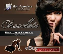 Collagène Brésilien Au Kératine Au Chocolat 16oz De Traitement De Première Heure Pour Cheveux Hidra Max