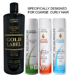 Complexe Brésilien Complexe De Traitement À La Kératine Pour Les Cheveux Avec Traitement Doré
