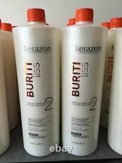 Complexe Brésilien De Traitement De Kératine Blowout Queratina Keratina Kerazon 34oz