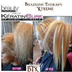 Cure Brésilienne À La Kératine B 0 T 0 X Traitement Pour Cheveux Blonds Fins Retexture Btx 5oz