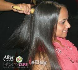 Cure De Kératine Brésilienne - Kit De Traitement Des Cheveux Pour Cheveux 0% Bio Et Miel 0% 5 Oz