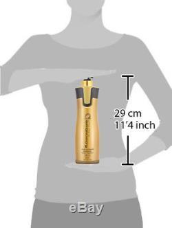 Cure De Kératine Brésilienne - Kit De Traitement Des Cheveux Pour Les Cheveux 0% Bio Et Miel Bio 32 Oz