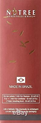 Défrisage Kératine Du Traitement Brésilien 1 Étape Liss Protéine Lissage Bru