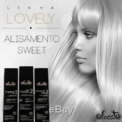 Doux Cheveux Belle Brosse Progressive Kératine Du Traitement Brésilien 3x980ml