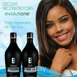 Ecoplus Evolutione Huile D'inca E1 Kératine Du Traitement Brésilien Evolutione