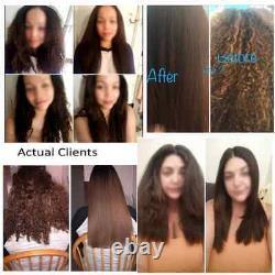 Ensemble De Traitement De Kératine À Cheveux Complexes Brésiliens 300ml Avec Fer Double Tension + Plus