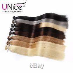 Épais 0,5g / S Kératine Bâton I-tip Fusion Remy Droite Cheveux Extension 1824