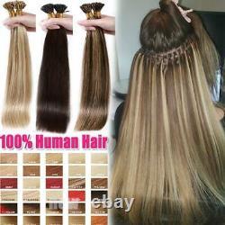 Épais 1g/s Clearance Keratin Pré-collé I Tip Stick Remy Human Hair Extensions R
