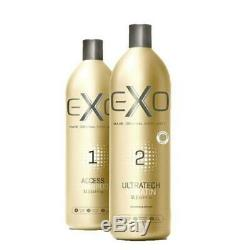 Exo Cheveux Lissage Kératine Ultratech Nano Exoplastie Capillaire Brésilien 2x1l