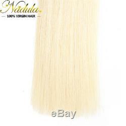 Fusion Brésilienne De Cheveux De Kératine Remy Bâton I-tip Droites Extensions De Cheveux Humains 8a
