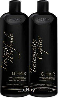 G Cheveux Inoar Cheveux Marocains Kératine Défrisage Brésilien 2 X 1 L