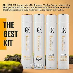 Gk Hair Keratin Traitement Lissant Kit De Lissage Brésilien 300ml
