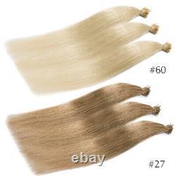 I Tip Stick Pre-bonded Kératine 100% Remy Human Hair Extensions 200 Brins Épais
