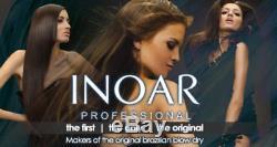 Inoar - Traitement Brésilien Brésilien À La Kératine - Blowout - Traitement De Redressement Des Cheveux - 1 Litre