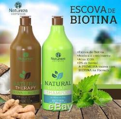 Kera Fruits Bresilien Pure Natureza Kératine Lisseur Traitement 1000ml