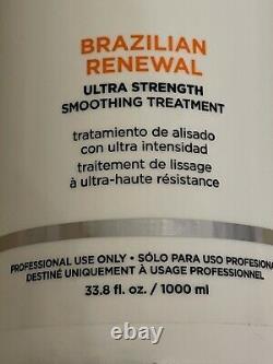 Keratherapy Brazilian Renewal Ultra Strength Smoothing Treatment 33oz 1000ml