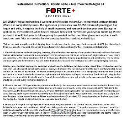 Keratin Recherche Forte + Traitement De Cheveux Kératin Brésilien 1000ml