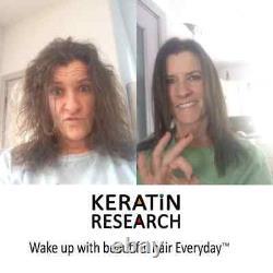 Keratin Recherche Forte + Traitement De Cheveux Kératin Brésilien 480ml Set