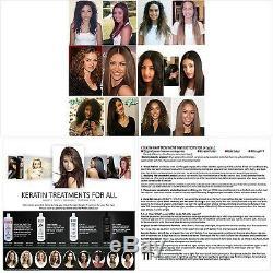 Kératine Brésilienne Blowout Redressage Lissage Traitement Des Cheveux 4 Bouteilles 1000m