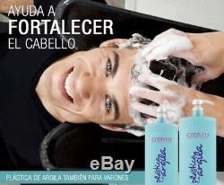 Kératine Brésilienne Cadiveu Plastica Argila Traitement Défrisage 3 X 500ml