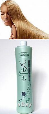 Kératine Brésilienne Elfex Soin Lissant Pour Les Cheveux 34 Oz (1000 Ml) Étape 2 Uniquement