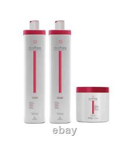 Kératine Brésilienne Traitement Des Cheveux Keraprime Progressive Kit 3 Produits Beox