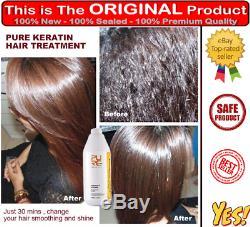 Kératine Brésilienne Traitement Thérapeutique Pour Cheveux Au Chocolat 8% Formaldéhyde Redressant