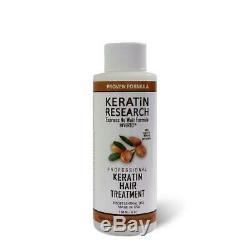 Kératine Recherche Brésilienne Blowout Kératine Traitement Des Cheveux 120ml (4oz) Profession