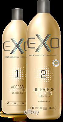 Kit 2 X 34 Oz Exo Professional Hair Ultratech Kératine Exoplastia Brésilien
