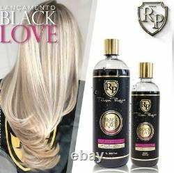 Kit Brésilien De Traitement Capillaire Black Love Straight Capillary Robson Peluquero
