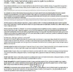 Kit De Lissage Pour Traitement Capillaire À La Kératine Brésilienne Puissante Avec Label Doré