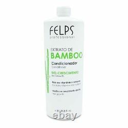 Kit Felps Extrait De Bambou Traitement Complet Traitement Des Cheveux Kératine Brésilien
