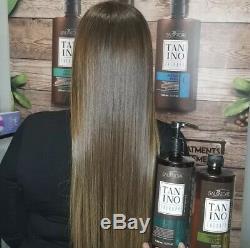 Le Traitement Des Cheveux Brésilien Kit 1l Salvatore Kératine Tanino Therapy 3 Étapes A + B + F