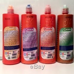 Lissage Brésilien Cheveux Caviarine 100% Traitement Authentique Sûr Home Usage 6 Mois
