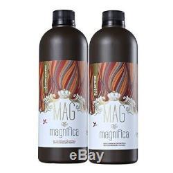 Mag Magnifica Protéine Biopolymerization Brésilienne Kératine 2x500ml Mag Magnific