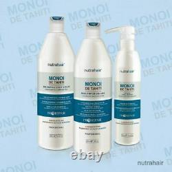 Monoi Tahiti Nutrahair Nutra Cheveux Brésilien Lissage Kératine Traitement 2,5l
