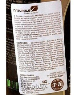Naturale Organic Brazilian Keratin Treatment Blow Dry 2x 1000ml/33,8 Fl. Oz