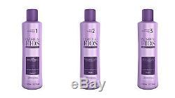 Plastica Dos Fios Kit De Défrisage Cheveux Pour Brushing À La Kératine Brésilienne