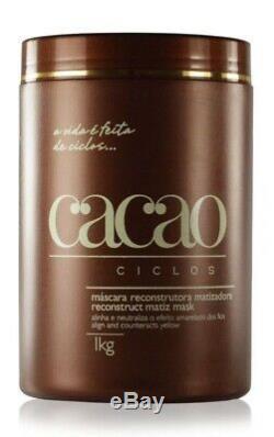 Portier Cacau Shampooing Bresilien Kératine Lisseur + 1000 ML Masque Botx 1 KG
