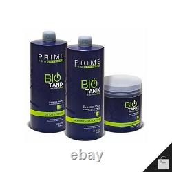Prime Bio Tanix Pro Extreme Brazilian Keratin Straightener Traitement Progressif