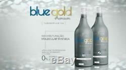 Prime Bleu Or Salvatore Brésilien Kératine Traitement Blowout 2x1l