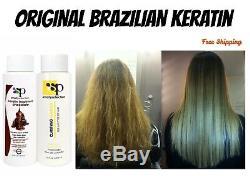 Professionnel Kératine Lisseur Kit Traitement Brésilien Pour Fizzy Damage Cheveux