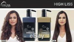 Progressive Bresilien Truss Haute Kératine Liss 650ml Cheveux Straigh