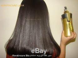 Protéine De Miel De Traitement D'or De Traitement De Éruption De Traitement De Éruption De Kératine De Cheveux Brésiliens Complexes